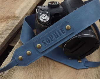 Leather Camera Strap Personalized camera strap leather, Gift for Photographer/Sony camera strap/Nikon camera strap\Pentax Camera Strap