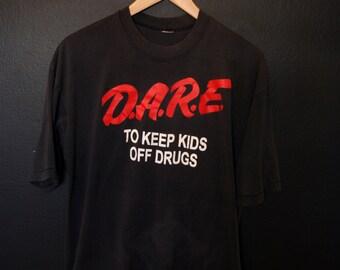 DARE 1990s vintage Tshirt