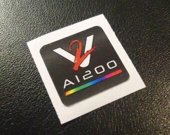 VAMPIRE Accelerator Commodore Amiga Label / Aufkleber / Sticker / Badge / Logo 2,0 x 2,0cm [335c]