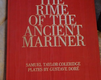 The Rime of the Ancient Mariner/1966/Samuel Taylor Coleridge/Gustave Dore/ Large Very Decorative Book/ Presentation Box