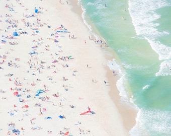 Sale 25% OFF ~ Seaside Heights I - Aerial Beach Photography