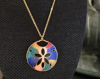 Cloisonne pendant, enamel pendant, enamel pendants, vintage cloisonné pendants, vintage cloisonné, colorful cloisonne, enamel pendant  N203