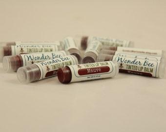 Tinted Lip Balm Mauve // Lip Gloss // Lip Stain // Natural
