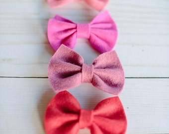 Mini Riley Bow on Clip or Headband - For Toddlers and Children