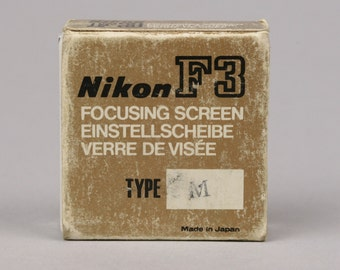 Nikon F3 Focusing Screen Type M, for Close-up and Other High Magnification Work