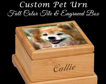 Custom Pet Urn, Pet Urn, Dog Urn, Cat Urn, Cremation Urn, Memorial Gifts, Pet Memorial, Dog Memorial, Cat Memorial, Personalized Pet Urn