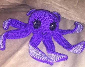 Amigurumi Octopus, Stuffed Octopus, Octopus Stuffed Toy, Crochet Toys, Crochet Octopus, Baby Stuffed Octopus Amigurumi, Gift for Kids