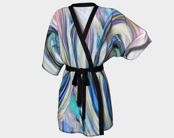 Kimono Robe - Drop in the Ocean