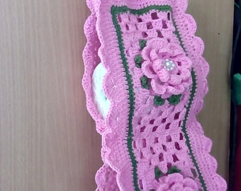 Knitting Pattern For Toilet Paper Holder : Toilet roll cover Etsy