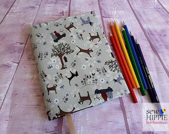 Dog Lover Gift, Pet Lover Gift, Dog Journal, Cat Journal, Pet Journal, Best Friends Forever Diary, A5 Refillable Notebook, Custom Notebook