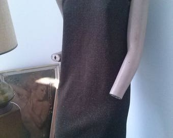 Lurex 60s Vintage Mod dress size 10-12