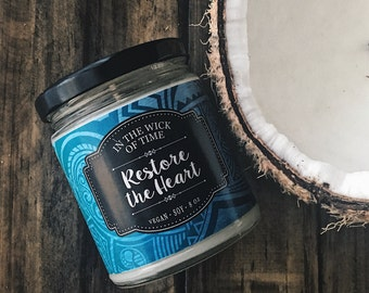 Restore the Heart | Scented Vegan Soy Candle |