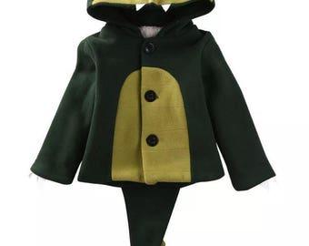 Crocodile / Dinosaur children's coat