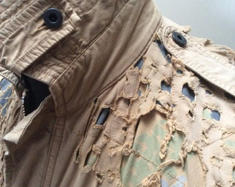 Made in England GRIFFIN MILITARY JACKET Limited Edition Vintage Jacket