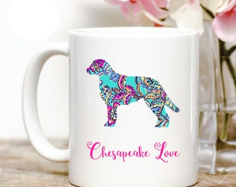 Chesapeake Bay Retriever Love Coffee Mug