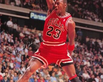 Michael Jordan Chicago Bulls 1990  Poster