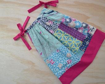 PillowCase Dress, Summer Dress, Toddler, Girl, Patchwork, Multicolours, Size 2