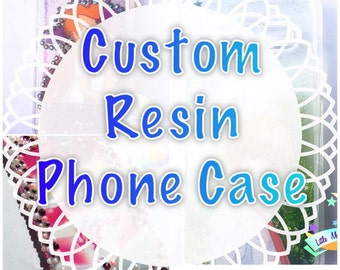 Custom Resin Phone Case