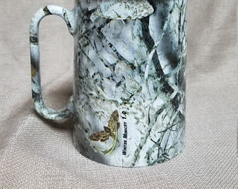 Winter Camoflauge 16 oz. Mug