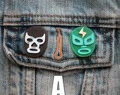 Lucha Libre Pin | Lucha Libre | Pin | Flair | Lapel Pin | Brooch | 3D Printed