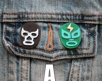 Lucha Libre Pin | Lucha Libre | Pin | Flair | Lapel Pin | Brooch | 3D Printed  | Moms | Dads | Grads