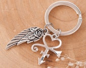 Prince Wing Tribute Keychain