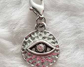 "Carl's (""Coral's"") Eye Charm - TWD - Clip-On - Ready to Wear"