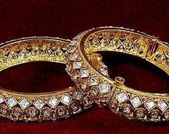 Clearance sale !!!!!!Very gorgeous Indian bracelet |  indian jewelry| bridal jewelry| wedding jewelry