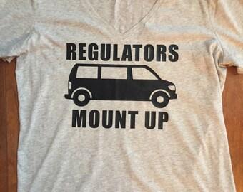 Regulators Shirt Etsy