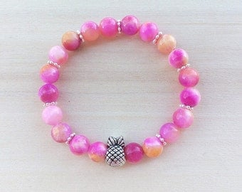 CLEARANCE SALE. Pink pineapple