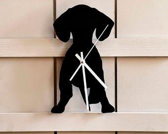 Dachshund Clock - Dog Clock