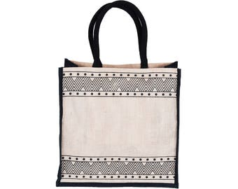 BHRASTA Juco/Jute eco friendly Reusable Shopping Grocery Tote Bag