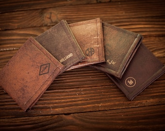 Mens wallet, leather wallet, anniversary gift, mens gift, gifts for him, gift for men, groomsmen gift