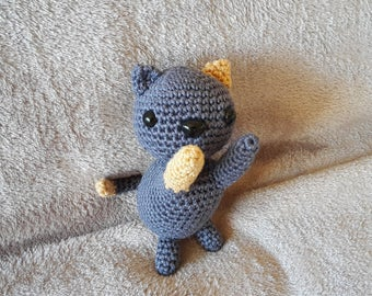 Cat crochet. AMIGURUMI