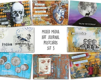 Art Journal Postcards (Set 3)