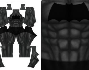 DARK KNIGHT RETURNS custom bodysuit