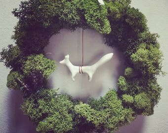 Wreath: Forest fox