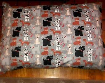 Pet Bed,Dog pillow, fleece cover