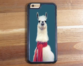 Llama in Scarf Scarve! iphone 5 5S 5C Iphone 6 6S 6 Plus Samsung Galaxy S3 S4 S5 S6 Protective Case Shell
