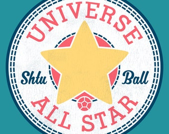 """UNISEX FIT """"Universe All Star"""" T-shirt"""