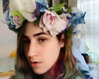 Pale Spring Faerie Crown