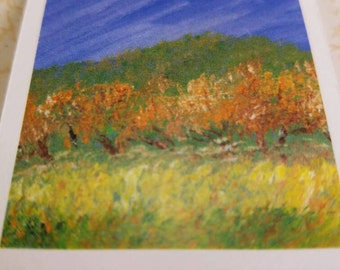 Autumn in the Orchard  (Magnetic Bookmark)