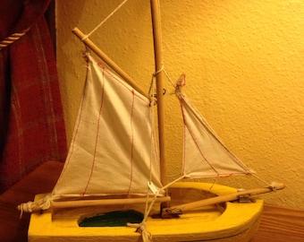 Vintage Star Yacht Birkenhead Wooden Sail Boat