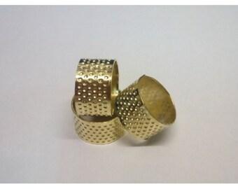 3 pcsThimble adjustable stitch needle hoop ring for Ribbon embroidery stitching