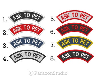 how to ask for a service dog