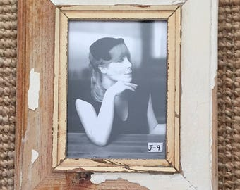 Jumbo Reclaimed Recycled Timber Photo Frame - J-9