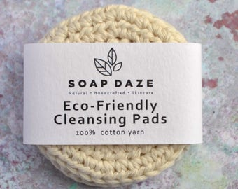 Eco-Friendly Cleansing Pads, Cotton Scrubbies