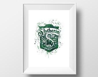 Harry Potter, Hogwarts, Slytherin, Hogwarts, Slytherin ™ * Instant Download *