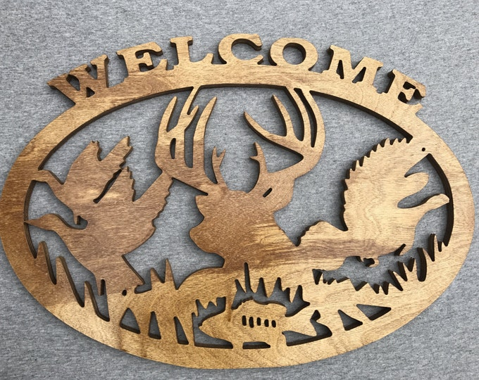 Wildlife Welcome Sign