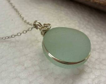 Simply Perfect Sea Glass Necklace
